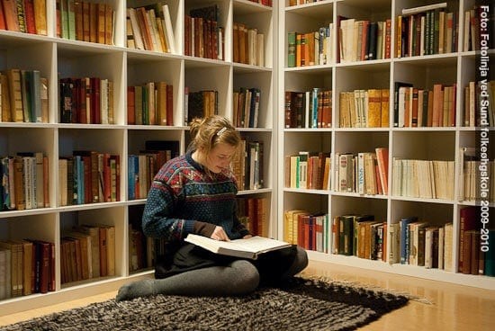 Leser bok