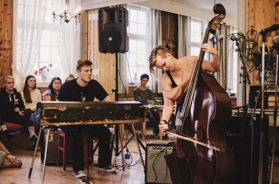 Jazz I Peisestua