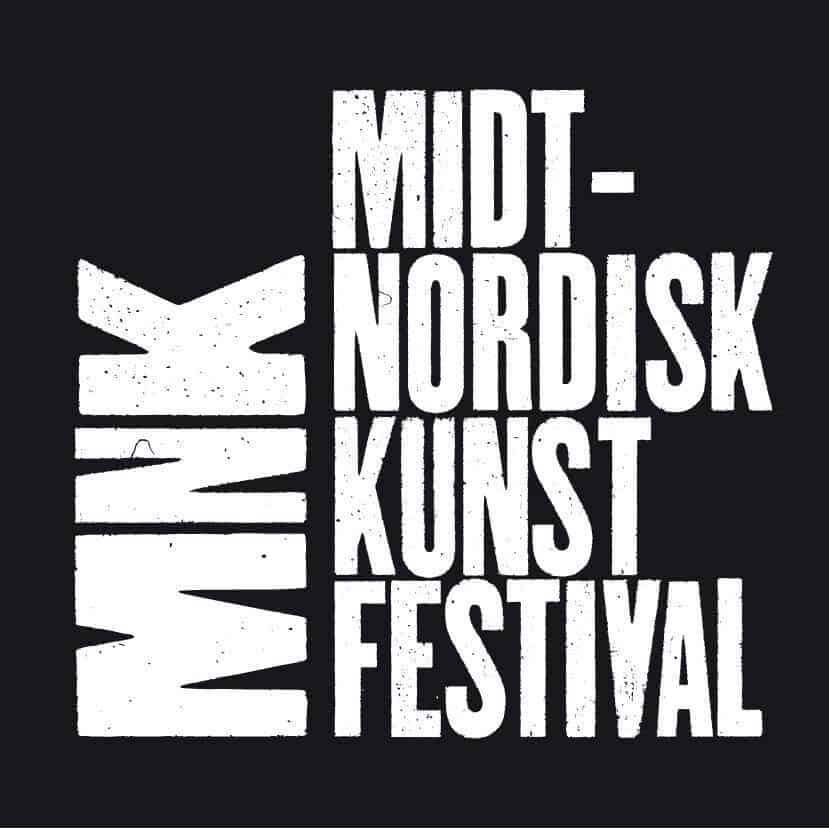 logo Midtnordisk Kunstfestival B/W