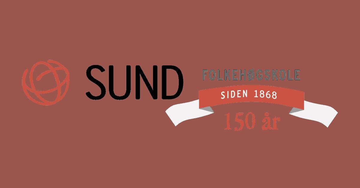 Logo Sund 150 år liggende